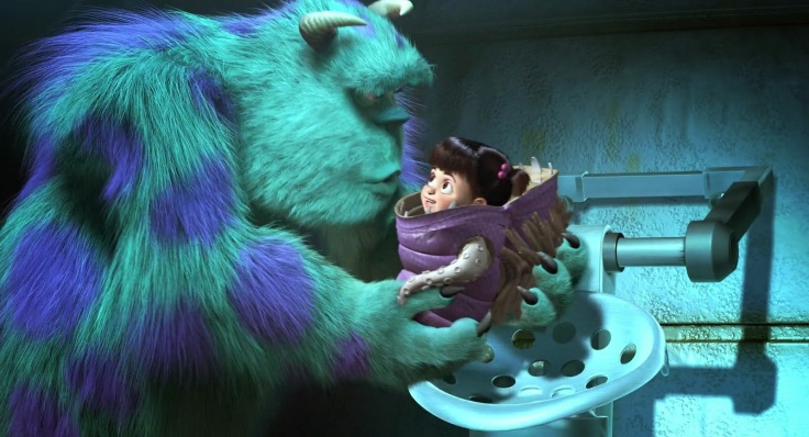 sulley saves boo