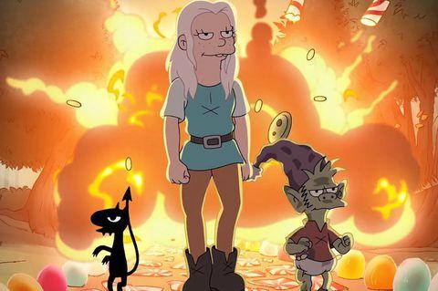 Des-encanto-Trailer-de-la-nueva-serie-de-Matt-Groening-con-princesa-empoderada