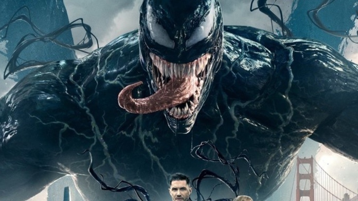 new-venom-poster-assembles-the-cast-as-venom-looms-over-the-golden-gate-bridge-social