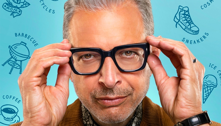 Imagen de promoción de 'The World According to Jeff Goldblum'